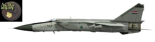 قسمت اول /درآمدی برحاشیه های حضور جنگنده  بلند پرواز میگ25 در جنگ هشت ساله !