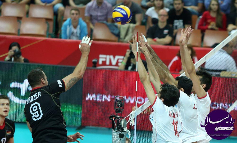 گزارش تصویری دیدار تیم ملی والیبال ایران و آلمان /قسمت سوم !
