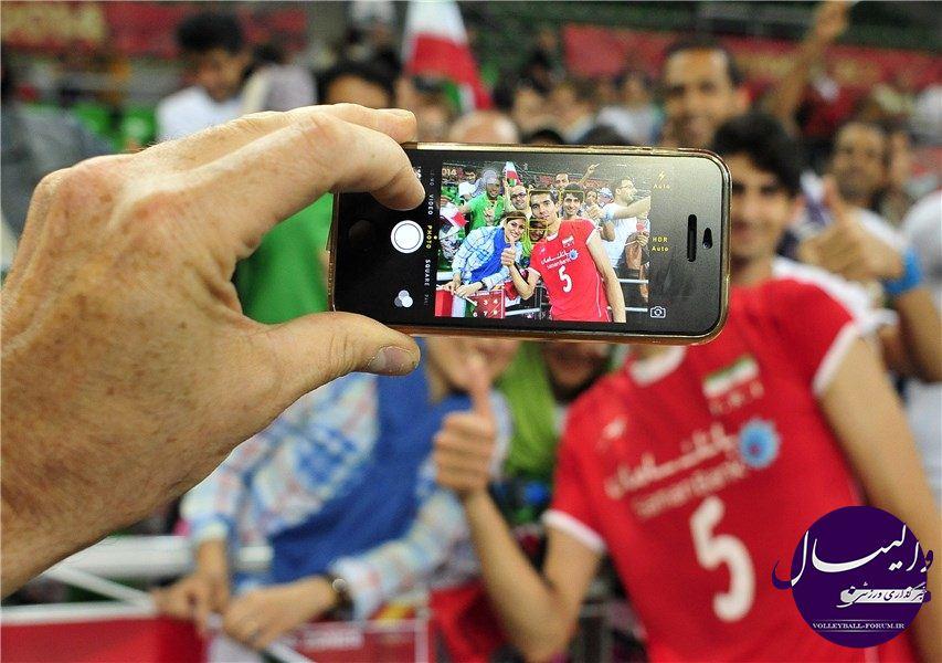 گزارش تصویری دیدار تیم ملی والیبال ایران و آرژانتین /قسمت اول !