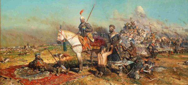 نبرد مَلازگِرد (Battle of Manzikert) /آلپ ارسلان ،وارث شاپور ساسانی !