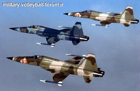 آشنایی کامل با تاریخچه و ویژگی های جنگنده اف 5 (F5) !