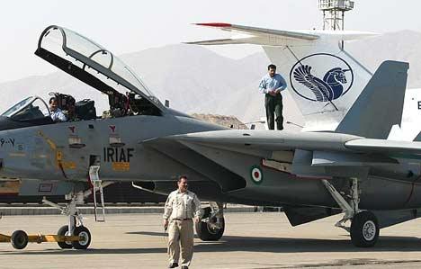 هواپیمای F-14 تامکت ایرانی با رنگ آمیزی جدید
