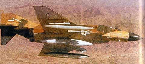 هواپیمای F-4E فانتوم متعلق به نیروی هوایی جمهورس اسلامی ایران