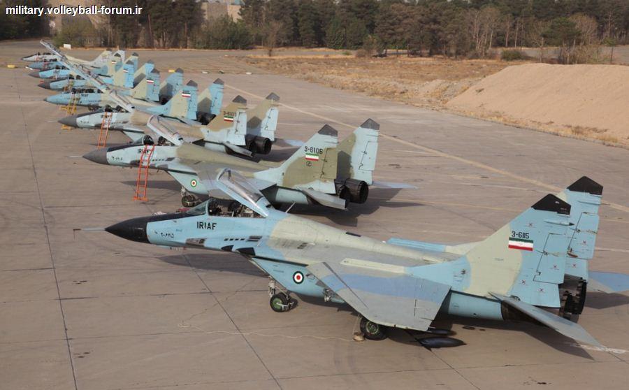 میگ 29 ایرانی (فالکروم) محافظان تبریز !
