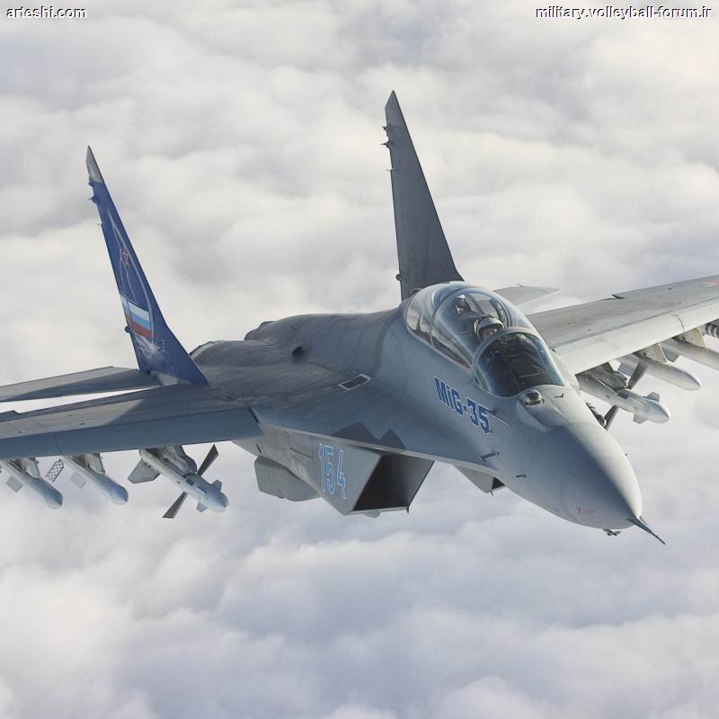 جنگنده MIG-35 (سوپر فالکروم) !