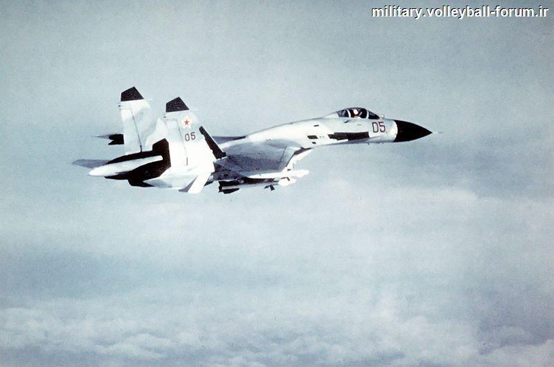 آشنایی کامل با جنگنده سوخو 27 (su 27) ملقب به فلانکر !