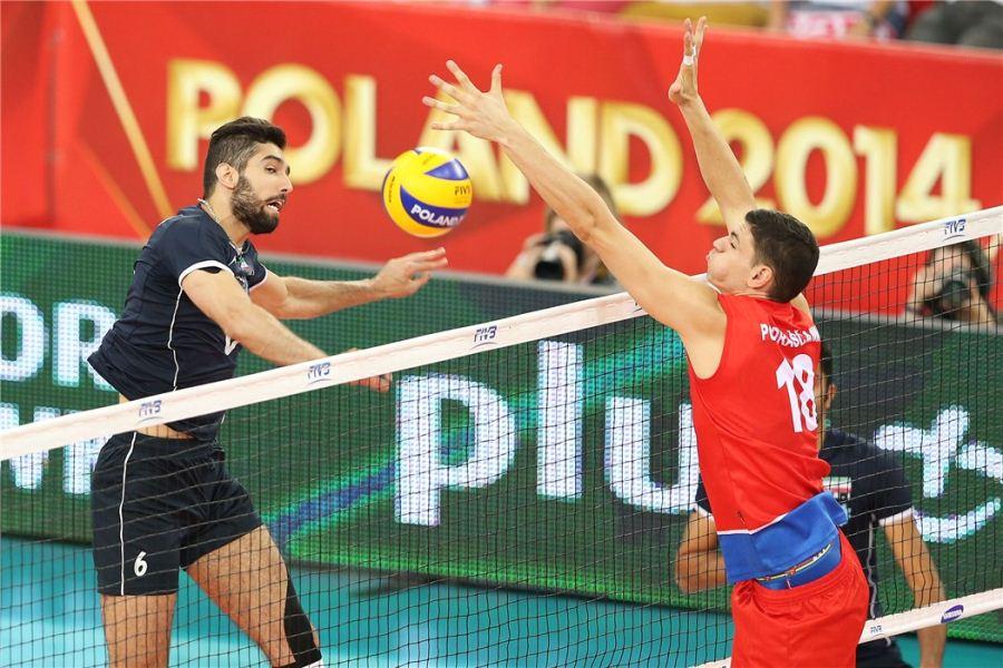 گزارش تصویری دیدار تیم ملی والیبال ایران و صربستان /قسمت دوم !