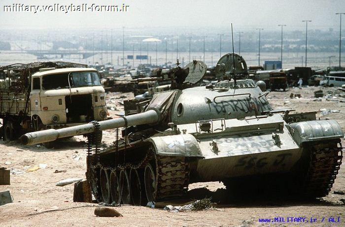 تانک T55،آشنایی با تاریخچه ی عملیات این تانک افسانه ای !