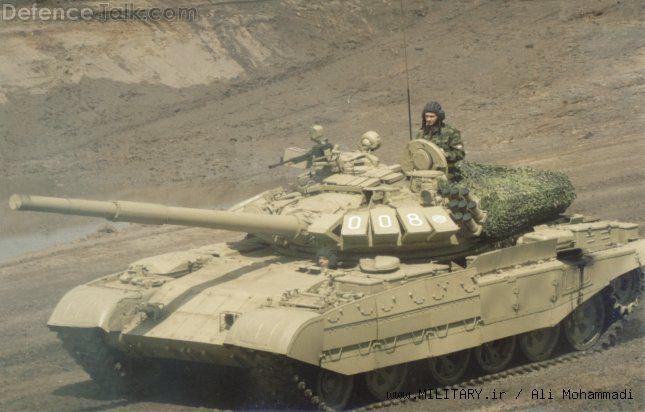 T55 تانک دیروز،تانک امروز؛نمونه های ارتقا یافته ی تانک T55 !