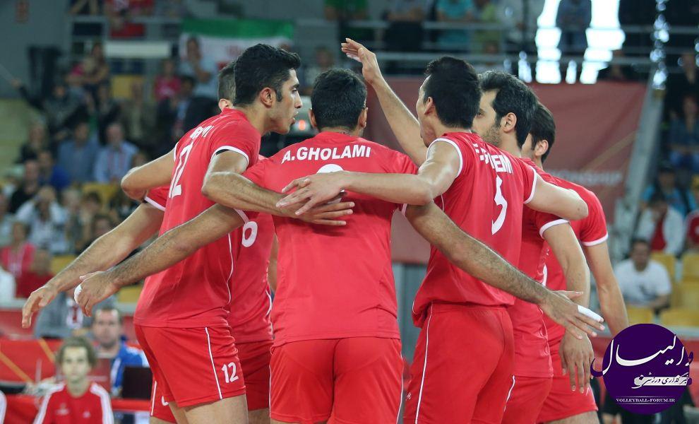 مسابقات جهانی والیبال 2014/مردان ایران برای مصاف با میزبان به غوچ رفتند !