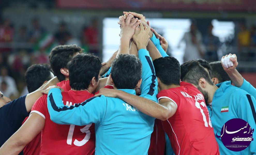 چک مغلوب قدرت مردان والیبال ایران شد