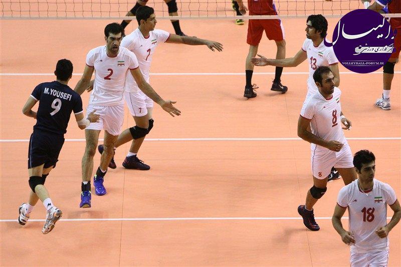سومین پیروزی تیم ملی والیبال ب برابر ترکیه !