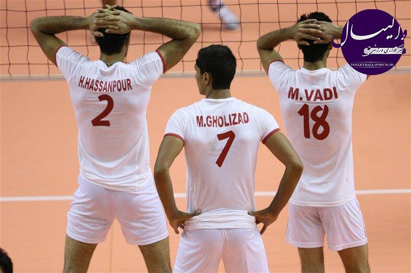 قطر هم مغلوب تیم ملی ب والیبال شد