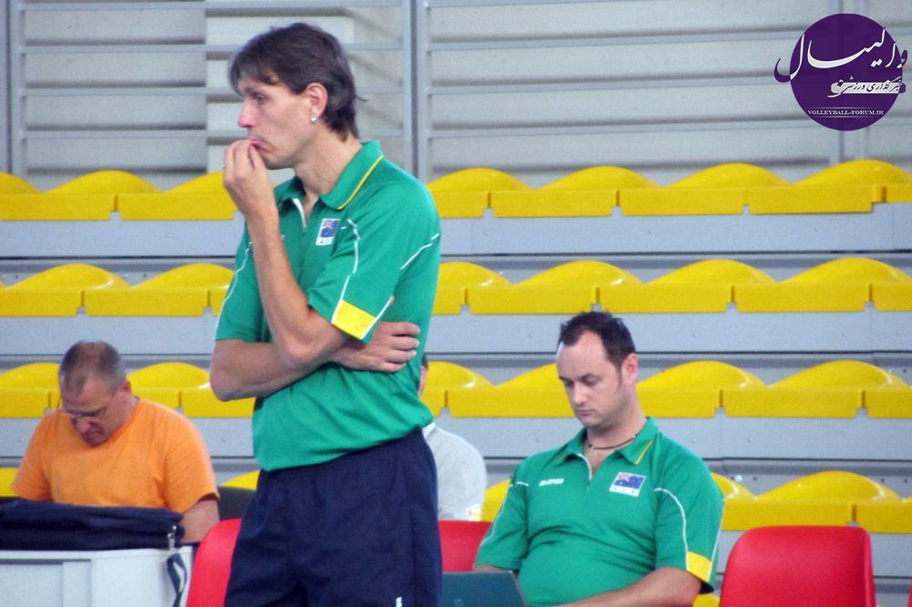 سرمربی تیم ملی والیبال استرالیا: ایران مربی بسیار خوبی دارد !