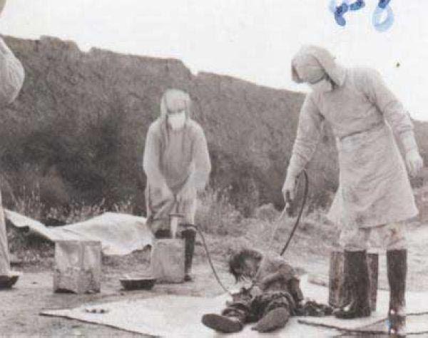 آزمایش بر روی انسانها توسط ژاپن در جنگ دوم جهانی