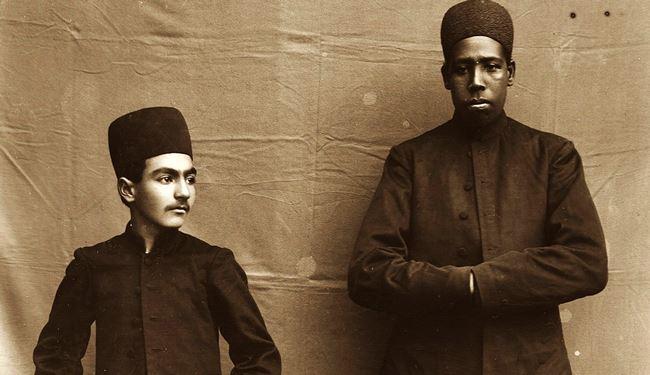 بردگان آفریقایی در حرمسرای ناصری + تصاویر