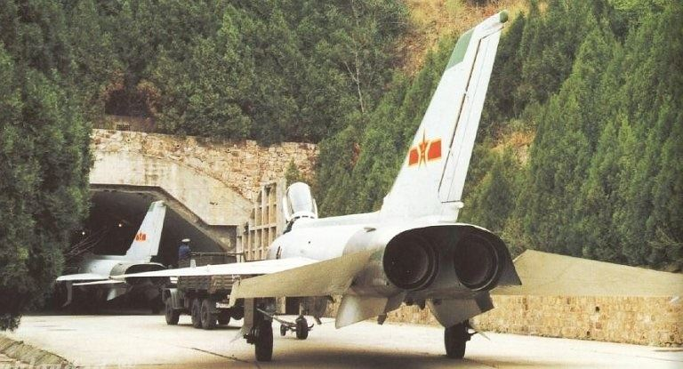 قسمت اول /آشنایی با پایگاه های هوایی زیر زمینی ارتش چین