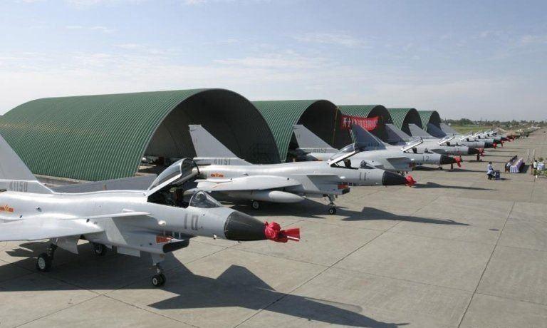 قسمت دوم /آشنایی با پایگاه های هوایی زیر زمینی ارتش چین