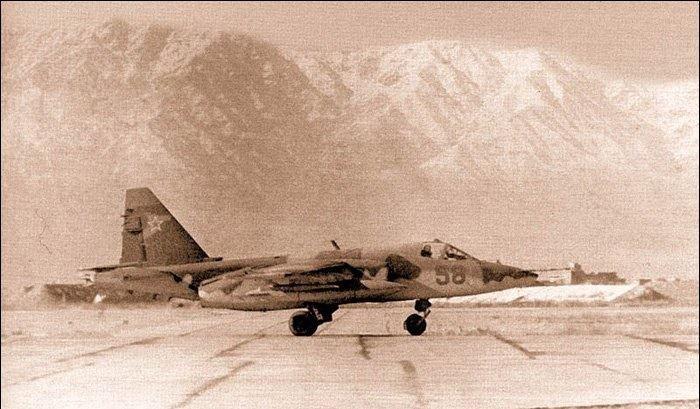 بخش پنجم / بررسی عملکرد Su-25 فراگ فوت در جنگ افغانستان