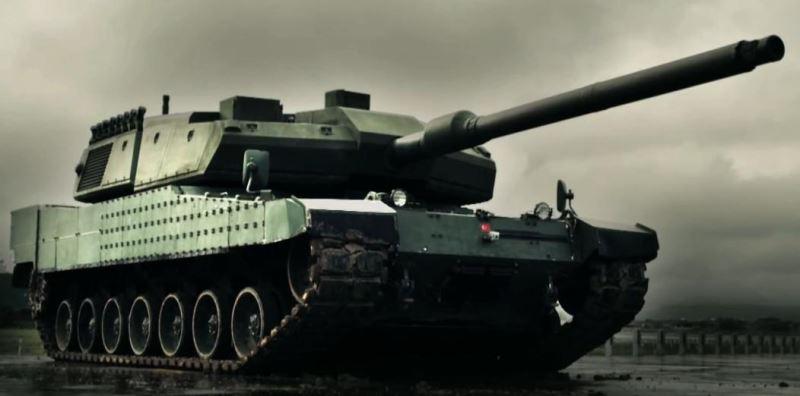 معرفی تانک آلتای ارتش ترکیه