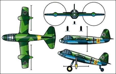 10 ابر سلاح هیتلر؛ ساخت اولین جنگنده عمود پرواز جهان