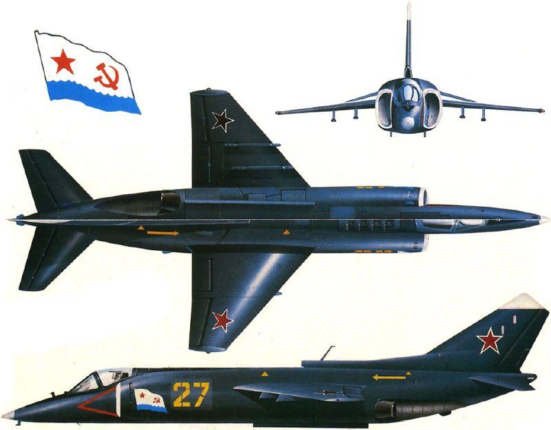 معرفی جنگنده یاک 38 (Yak-38) ؛ اولین عمود پرواز نیروی دریائی شوروی سابق