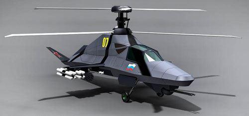 معرفی بالگرد Ka-58 ارتش روسیه / بالگردی با تکنولوژی استیلت
