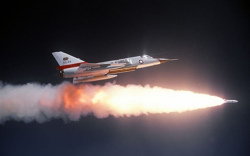 معرفی AIR-2 راکت هوا به هوای هسته ای