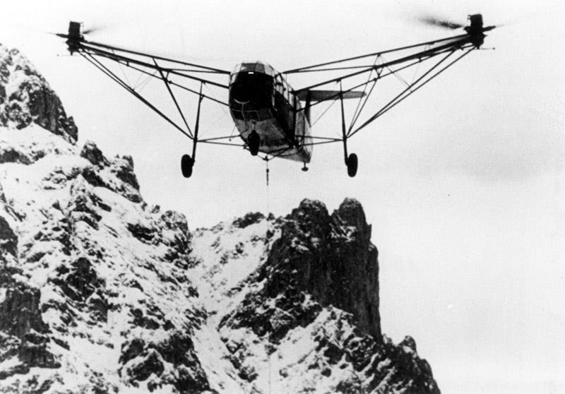بخش دوم / هلیکوپترهای نازی در جنگ جهانی دوم