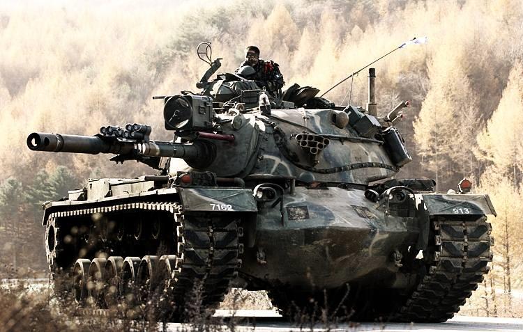 معرفی تانک تانک M-48 پاتن