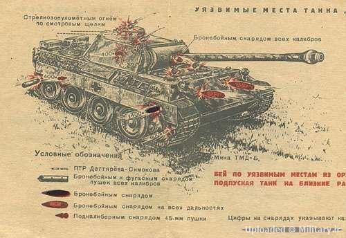 مقاومت زرهی جالب توجه تانک های آلمانی در جنگ جهانی دوم