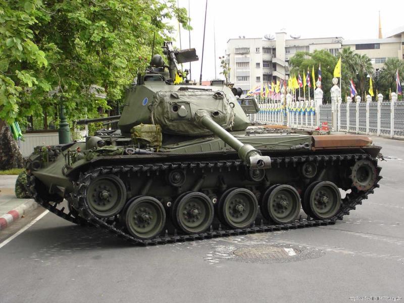 سرگذشت تانک ها و خودرو های پشتیبانی آتش سبک آمریکا
