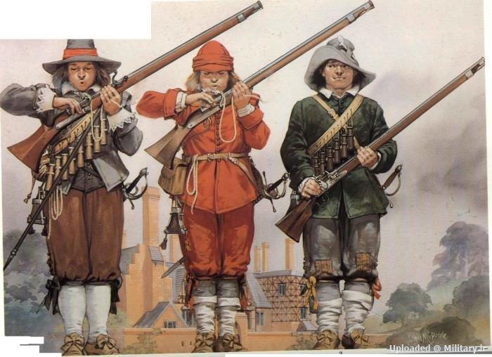 تفنگداران - Musketeers، پیاده نظام اولیه ارتش ها امروزی !