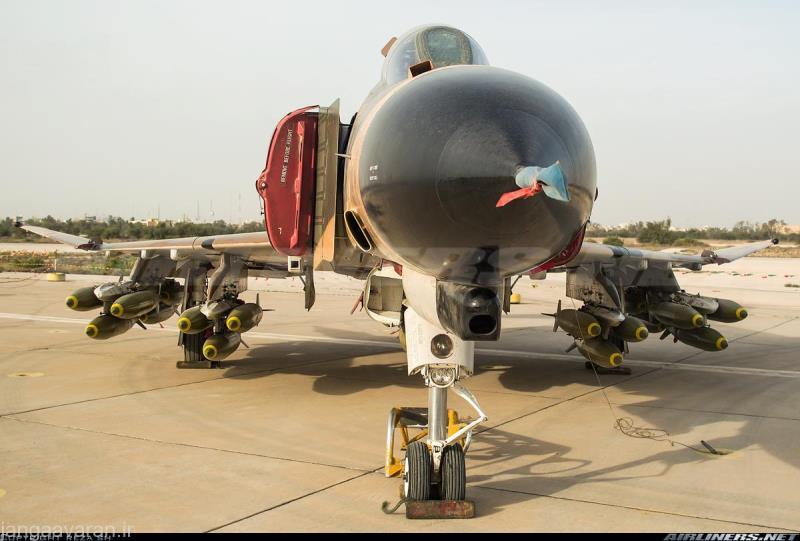 تسلیحات هوا به زمین موجود در نیرو های مسلح جمهوری اسلامی ایران