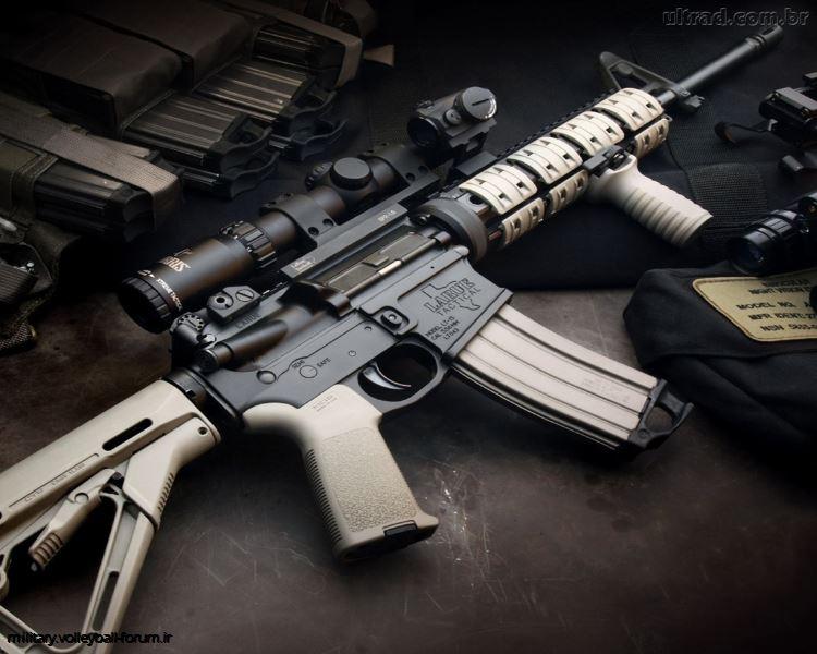 معرفی سلاح انفرادی M4 carbine  / سلاح سازمانی ارتش آمریکا +ویدیو+تصاویر