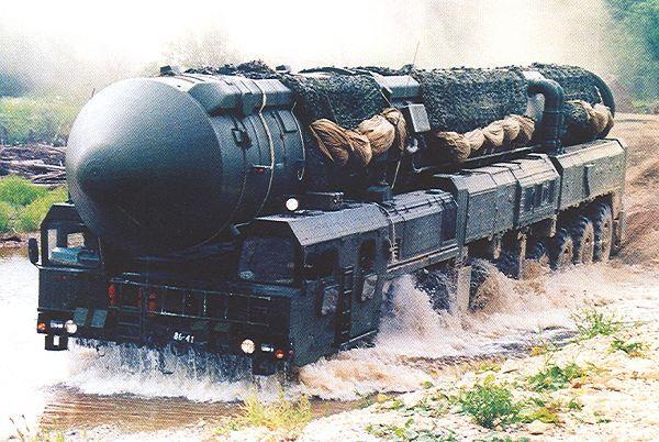 موشک توپول ام ،روسیه