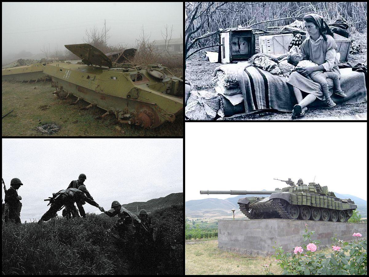 گزارشی تاریخی از جنگ هوایی بر فراز ناگورنو – قره باغ ، 1988 تا 1994
