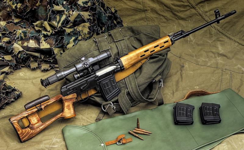 معرفی سلاح تک تیر انداز SVD ( درگانوف ) ، سلاح تک تیراندازی محبوب چریک ها !