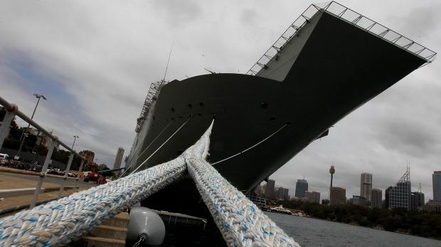 معرفی ناو هلیکوپتربر canberra نیروی دریایی استرالیا