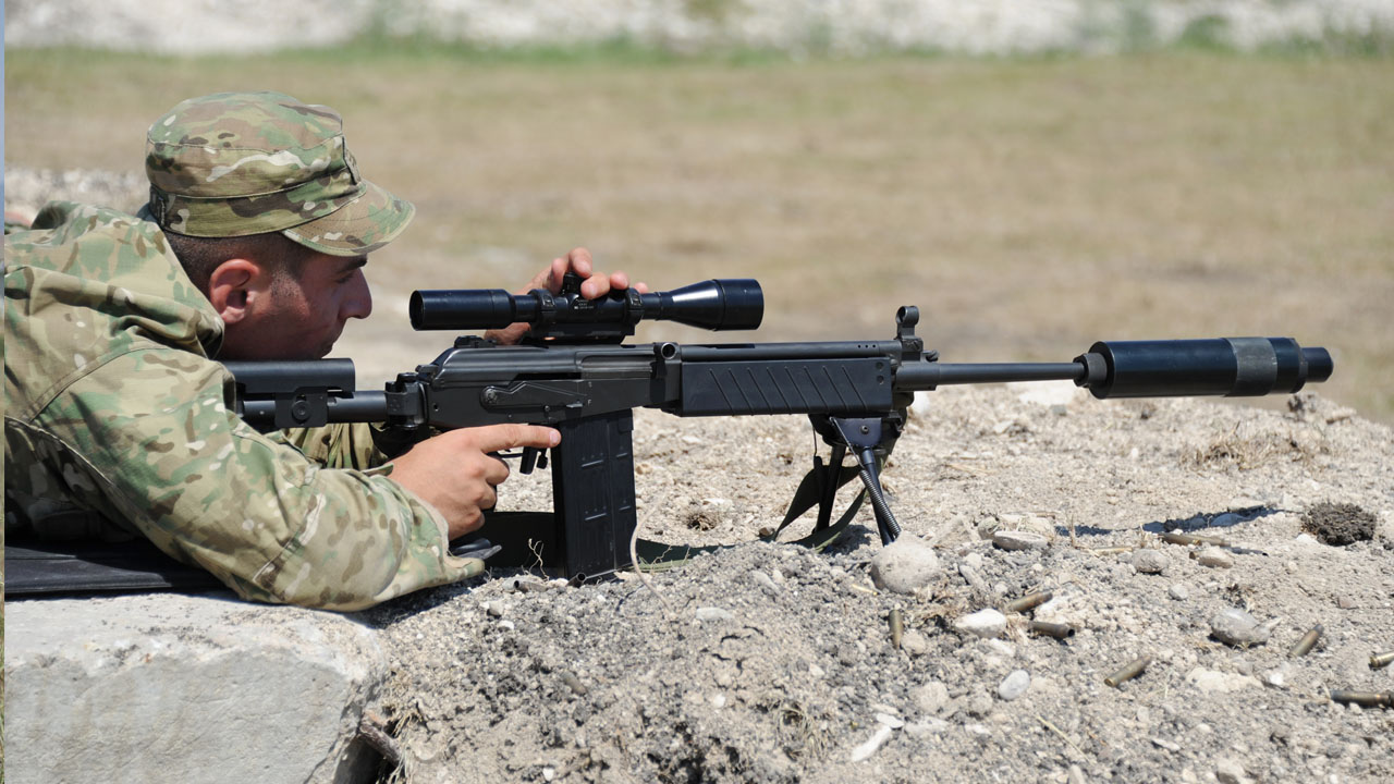 معرفی اسلحه اسنایپر GALIL ساخت رژیم صهیونستی