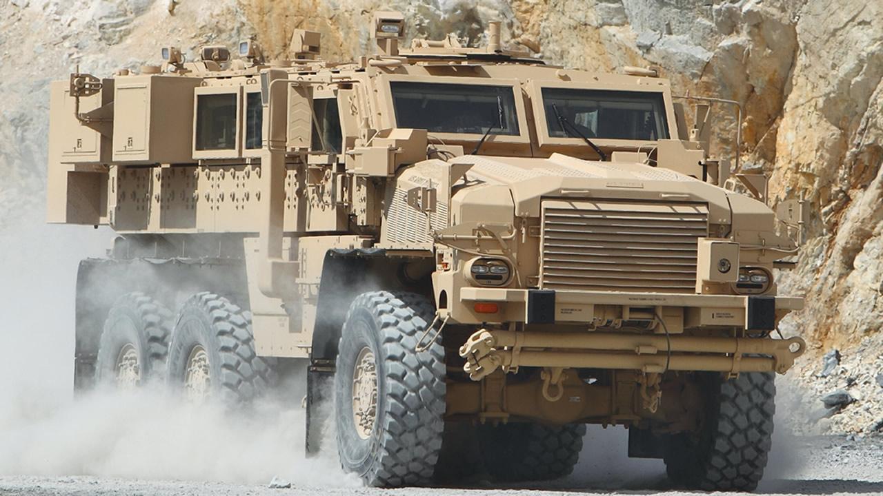 معرفی خودروی حفاظت شده RG-33 ساخت آمریکا