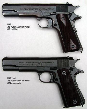 معرفی سلاح کمری کٌلت M1911