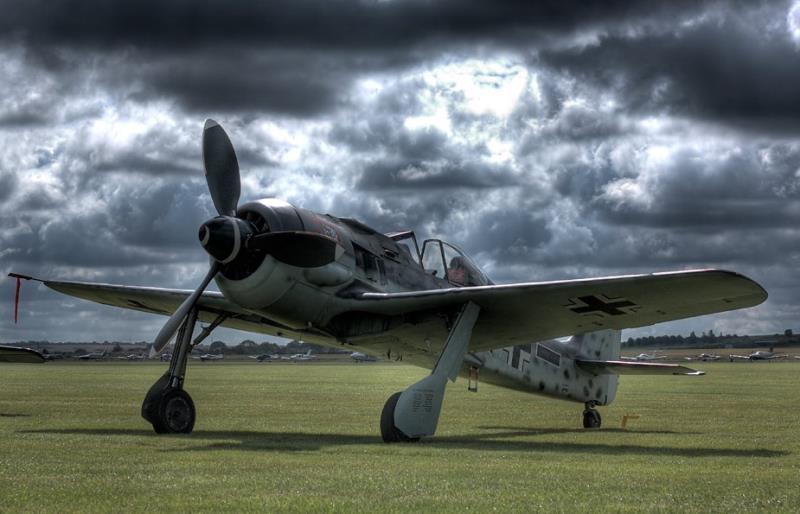 تصاویر جنگنده فوکه ولف FW-190 قصاب پرنده لوفت وافه آلمان نازی !