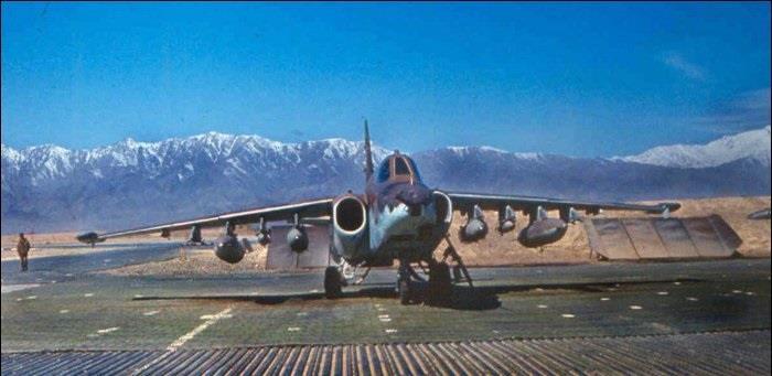 بخش سوم / بررسی عملکرد Su-25 فراگ فوت در جنگ افغانستان