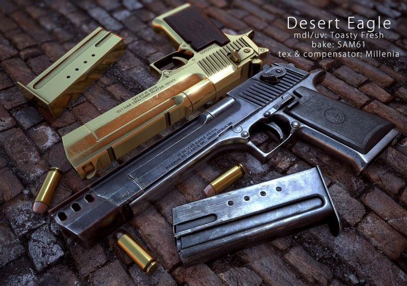 معرفی سلاح کمری مشهور دیزرت ایگل