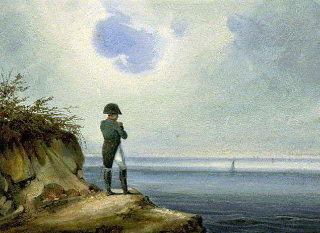 ماسکی که ناپلئون هنگام مرگ به صورت داشت