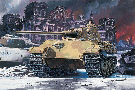 نقش تانکها در جنگ جهانی دوم